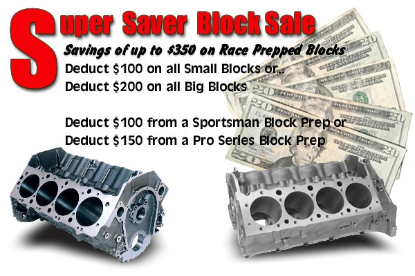 Super Saver Block Sale!